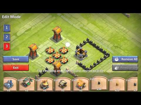 Castle Clash- Town Hall 10 Base