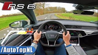 2020 Audi RS6 C8 Avant POV Test Drive by AutoTopNL
