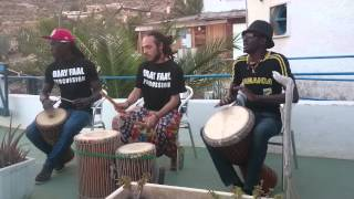 Baay Faal Percussion 2015 // Noreiny