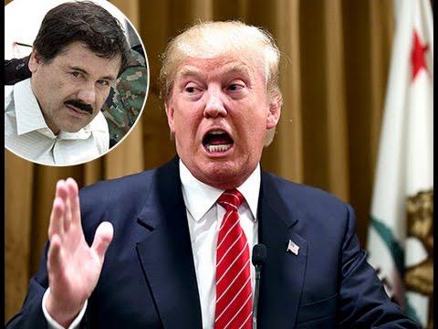 El Chapo Guzmán Amenaza De Muerte A Donald Trump 13 julio 2015