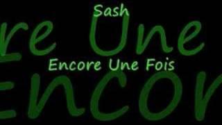 Sash-encore une fois