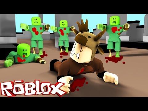 Roblox Adventures / Zombie Rush! / ESCAPING THE ZOMBIE APOCALYPSE!
