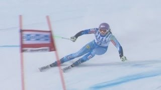 Video Tina Maze gets 2nd in Super G at St. Moritz - Universal Sports download MP3, 3GP, MP4, WEBM, AVI, FLV Agustus 2018