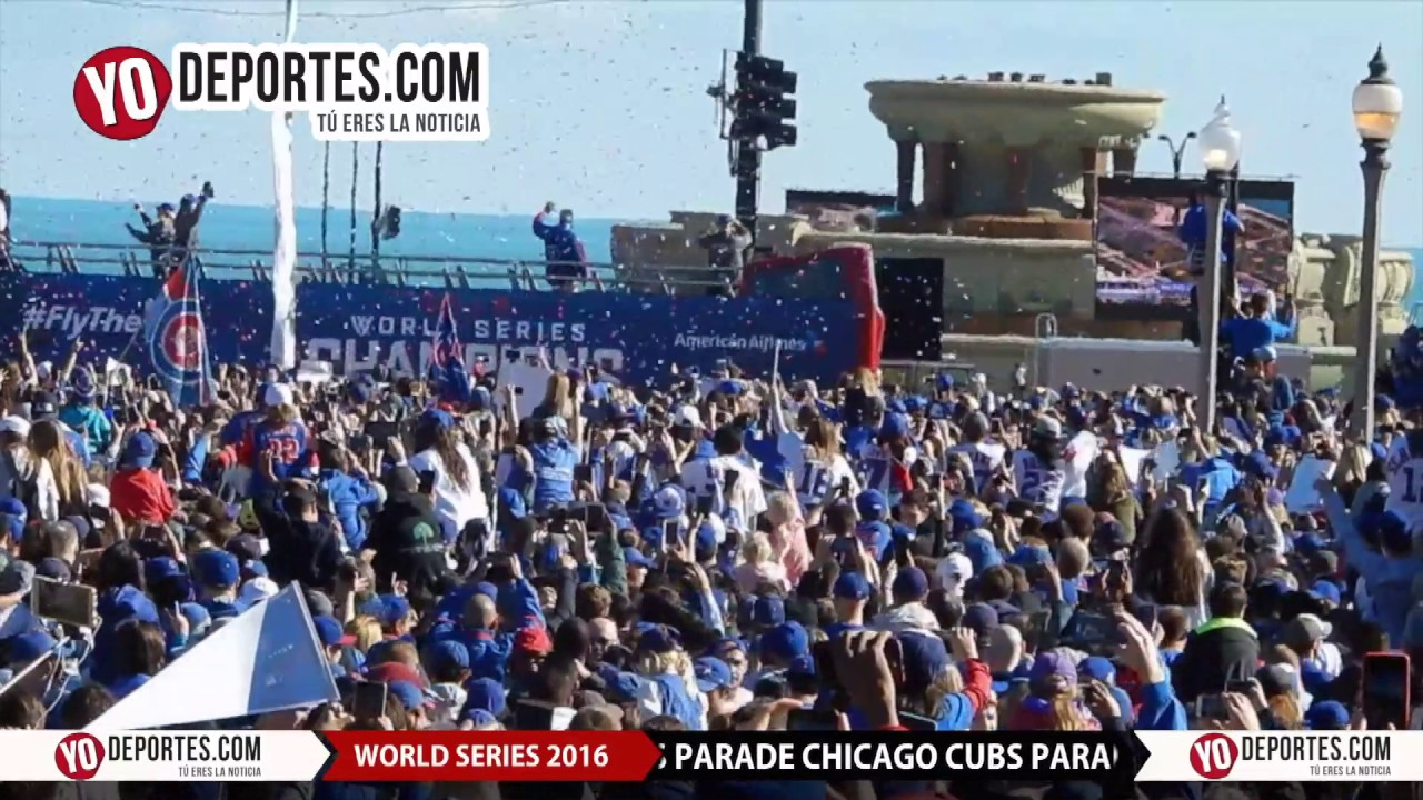Chicago Cubs World series Parade Rally YouTube