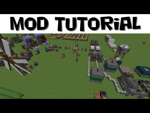 Immersive Engineering Tutorial #3 - Power Production (MC 1.7.10)