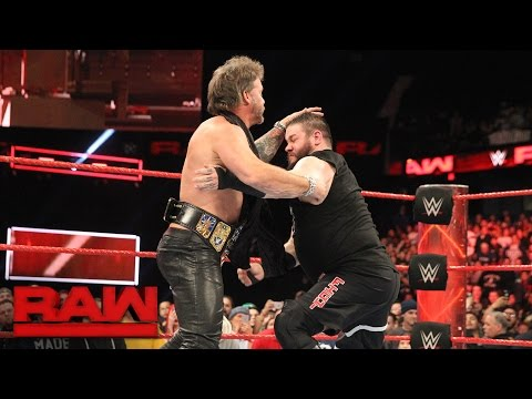 Chris Jericho wants Kevin Owens at WrestleMania: Raw, March 6, 2017