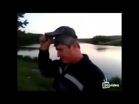 Мужик на рыбалке ( на стиле