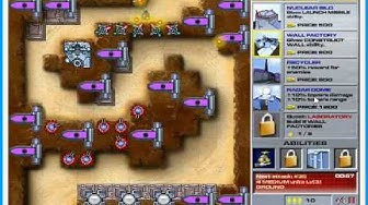 Canyon Defense Win/Walkthrough