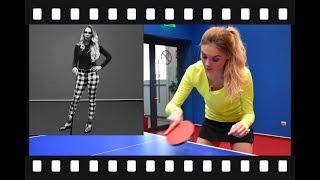Уроки настольного тенниса. Урок 2. Подрезка слева. Сабитова - Зарыпова. Newton Arena.