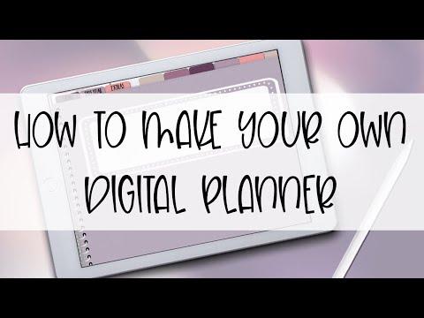 Download How To Make A Digital Planner Digital Bullet Journal