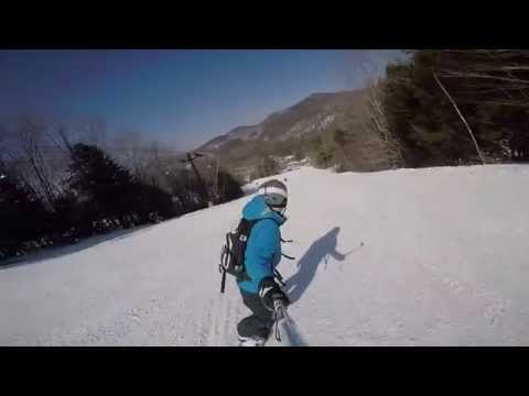 Snowboarding Edit at Attitash Mountain (Gopro)