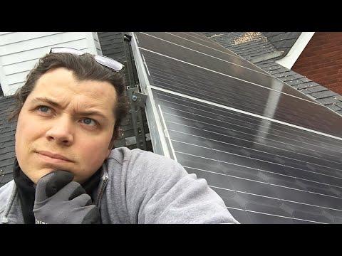 Solar roof leaks