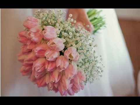 Babys breath and rose wedding bouquet youtube babys breath and rose wedding bouquet mightylinksfo