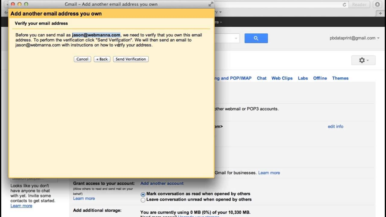 Add Email On Gmail adding custom email domain to gmail account
