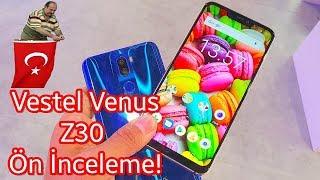 Vestel Venus Z30 ön inceleme - Yapay Zekalı