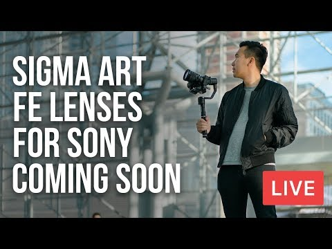Download Youtube: SIGMA ART FE LENSES FOR SONY COMING SOON + DJI MAVIC AIR LEAKED - 🔴 Monday Live