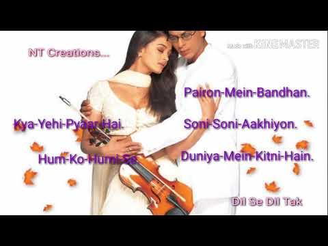 Mohabbatein Movies Mp3 Songs Jukebox