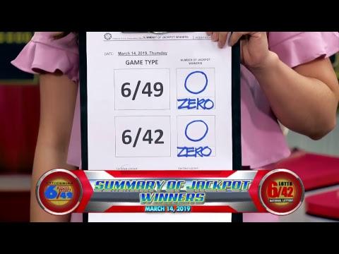 [LIVE]  PCSO 9:00PM Lotto Draw - March 14, 2019