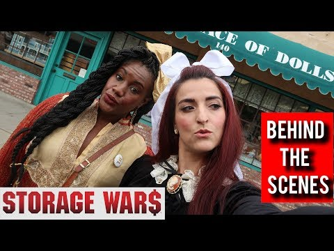 Thrifting Vintage dolls & a dream come true Behind The Scenes Ep 5 #StorageWars  #ThriftersAnonymous