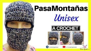 Como Tejer Un Gorro Para Hombre A Crochet Paso A Paso 297fd5d35e1