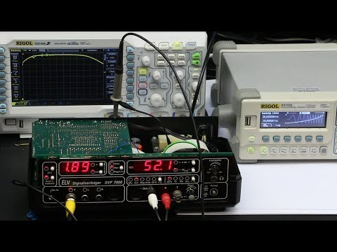 Audio Signal-Tracer SVF7000: Analysis of the input circuitry