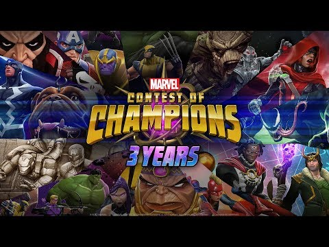 Happy 3rd Anniversary | Marvel Contest of Champions