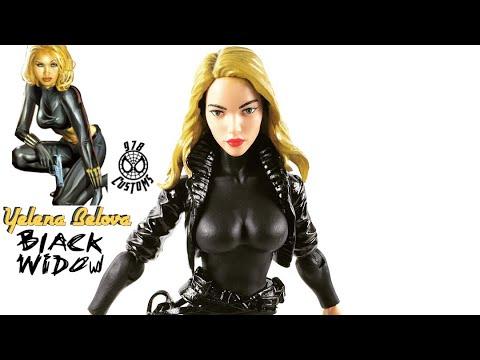 BLACK WIDOW Yelena Belova custom Marvel Legends Avengers 6