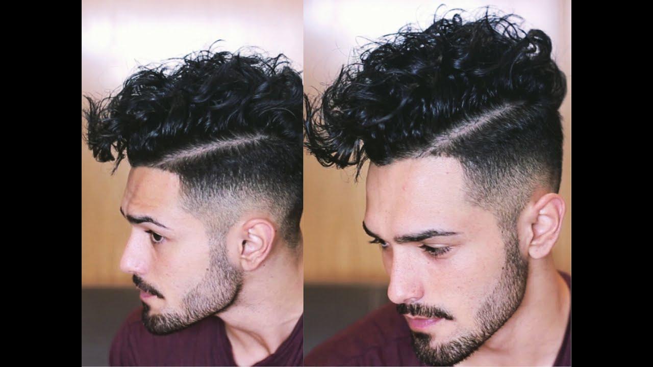 Como Peinar El Cabello Crespo De Hombre Peinados Y Peinados De Moda 2018