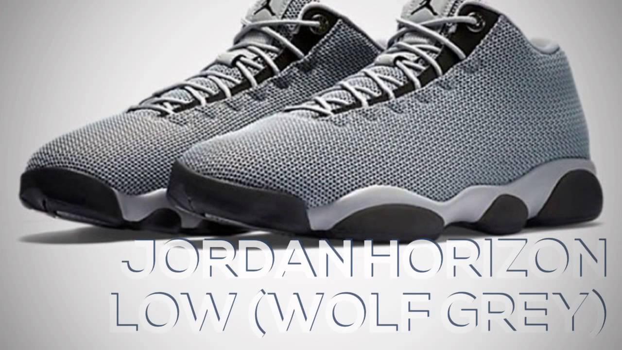 5ea7feb11303f JORDAN HORIZON LOW (WOLF GREY) / PEACE X9 - YouTube
