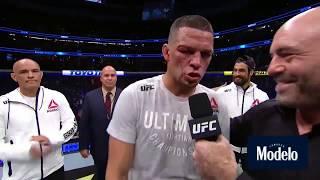 UFC 241: Нэйт Диаз - Слова после боя