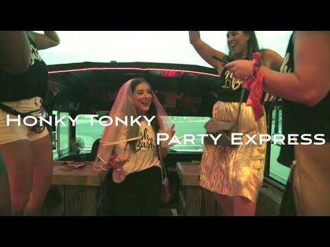 The Honky Tonk Party Express. Nashville's Best Party Bus Experience!