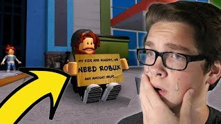 REACTING TO A SAD ROBLOX MOVIE - The Poor Within Riches