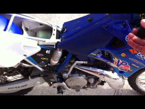 Yz250 issues bogging out!