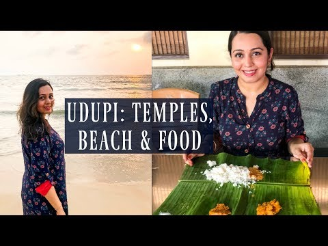 UDUPI food & tourist places: Krishna Temple, Malpe Beach, Breakfast Buffet