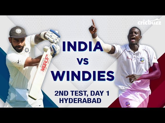 Match Story: India vs Windies, 2nd Test, Day 1