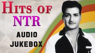 Top 10 Hits Of NTR Old Telugu Songs Jukebox NTR Super Hit Melodies