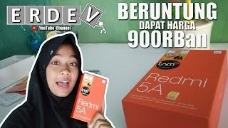 Unboxing & Hands On Xiaomi Redmi 5A - Cie Yang Dapet Flash Sale