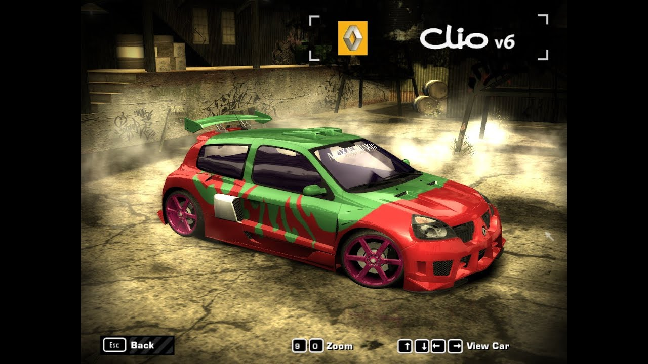 need for speed most wanted 2005 renault clio v6 hd youtube