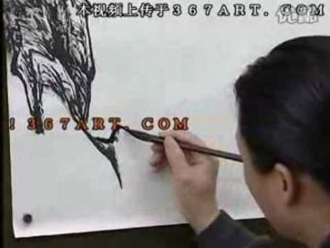 Zeng Gang 曾刚山水画 DVD Course of Chinese Landscape Painting (Disk 1-4)