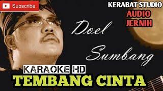 tembang cinta doel sumbang feat nini carlina karaoke | audio jernih | kerabat studio