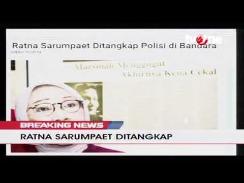 [BREAKING NEWS] Ratna Sarumpaet Ditangkap!