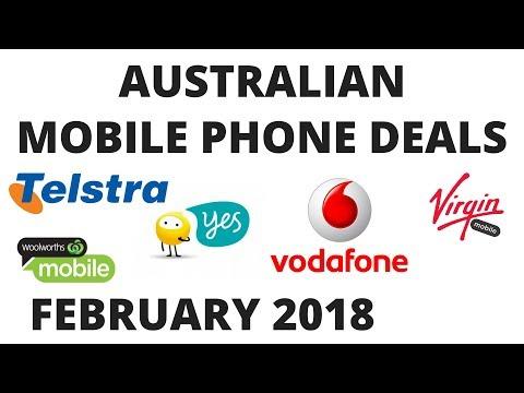 Australia's BEST MOBILE DEAL FEBRUARY 2018