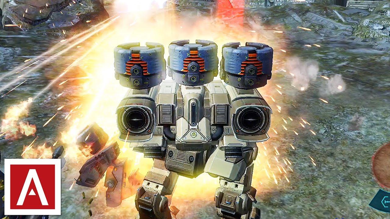 how to make a war robot