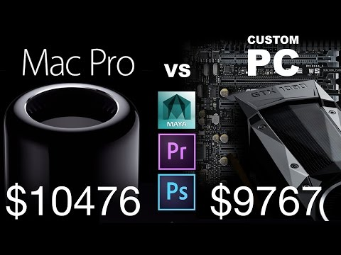 $10K MacPro or $10K 56-thread Ultimate PC Workstation