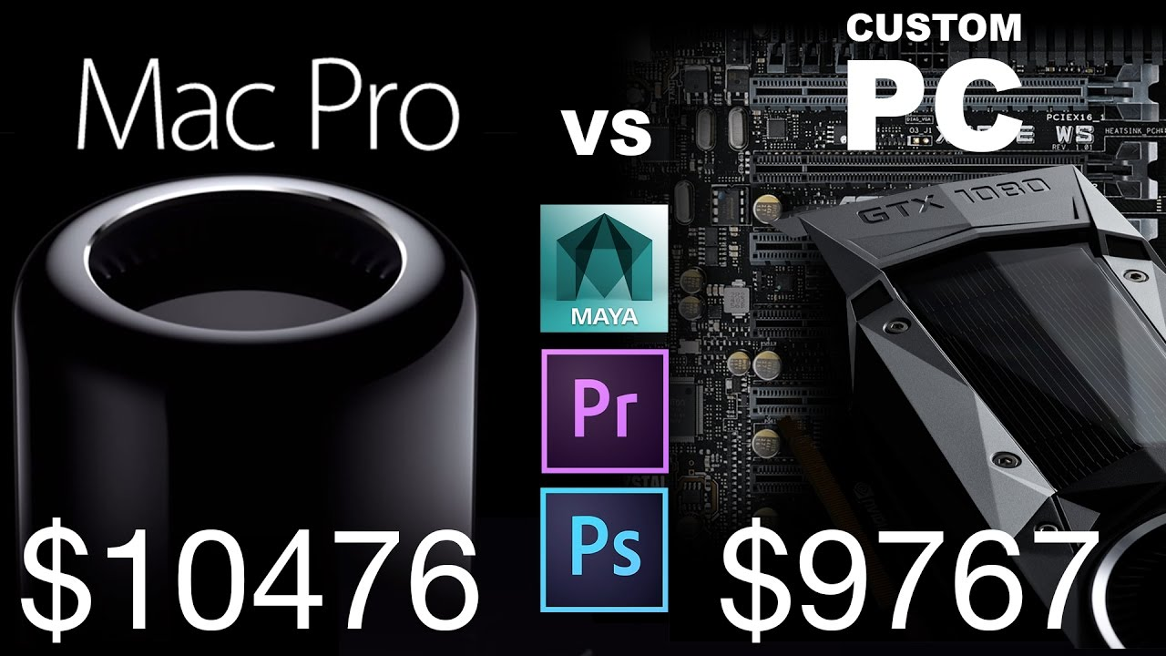pc workstation vs mac pro