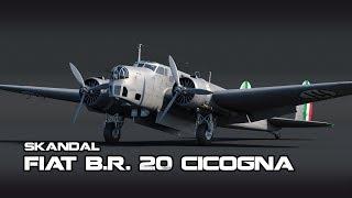 War Thunder Gameplay ITA: Fiat BR 20 Cicogna