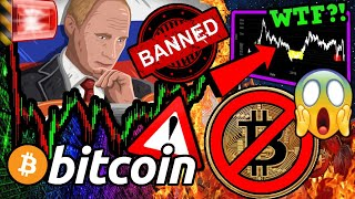 BREAKING: BITCOIN BANNED by RUSSIAN!!? WHAT BTC DOES NEXT MIGHT SHOCK YOU!!