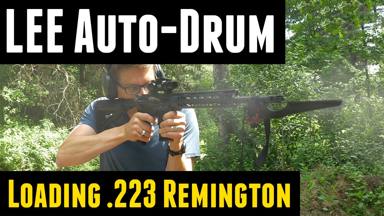 Loading for the AR-15 with the LEE Auto-Drum Powder Measure