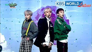 EXO-CBX - Blooming Day | 첸백시 - 花요일 [Music Bank HOT Stage / 2018.04.13]