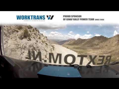 Worktrans al tien jaar partner van Ginaf Rally Power | Le Dakar 2015